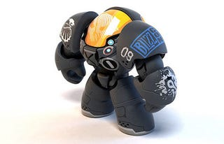 Illustration for article titled Skull Or No Skull, This Starcraft II Figure Is Adorable