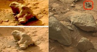 Illustration for article titled Pirámides, huesos y otros inventos que no, no hemos encontrado en Marte