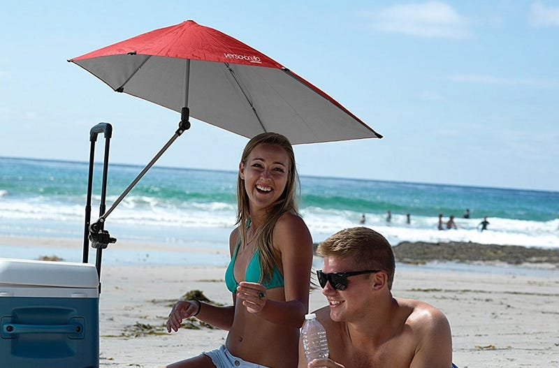 Sport-Brella Versa-Brella 4-Way Swiveling Sun Umbrella   $18   Amazon