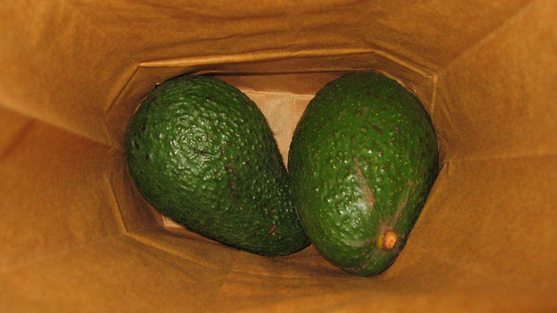 how to make avocados ripen overnight