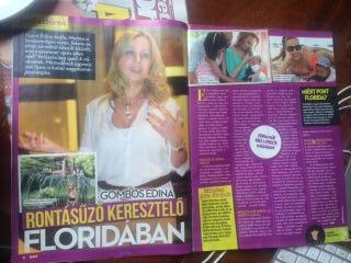 Illustration for article titled A Nők Lapja Café 2010-es (!) interjúját nyúlta le a mai Hot magazin