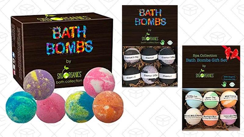 $5 off Bath Bomb Gift Sets | Amazon