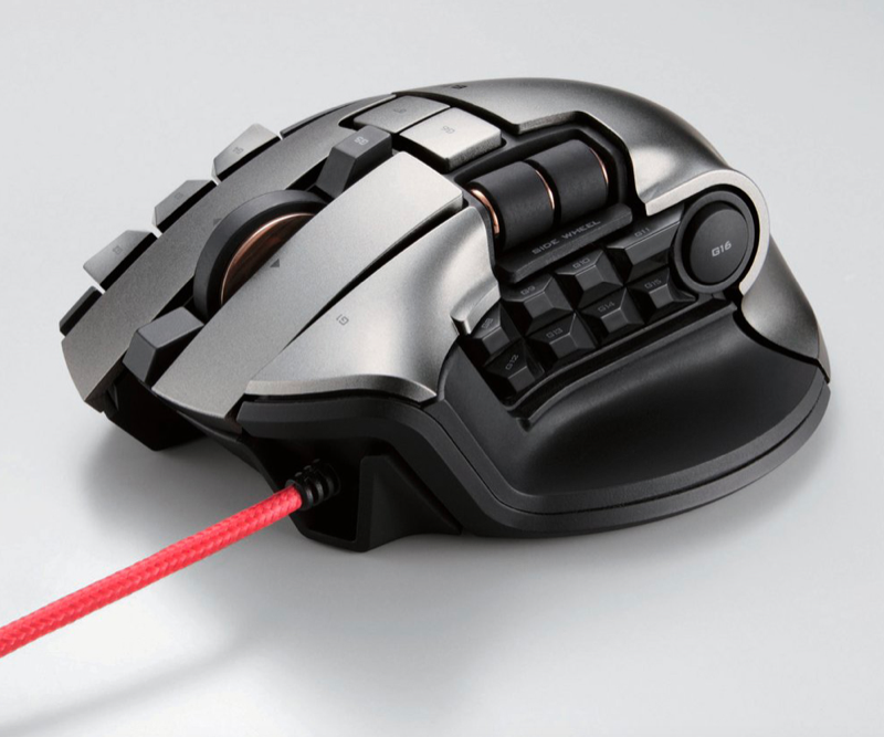 Illustration for article titled A Gaming Mouse Designed Just for MMORPG Players