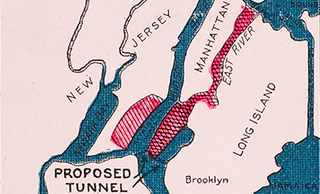 Illustration for article titled The Plan to Build a Mega-Manhattan That Failed, Thank God