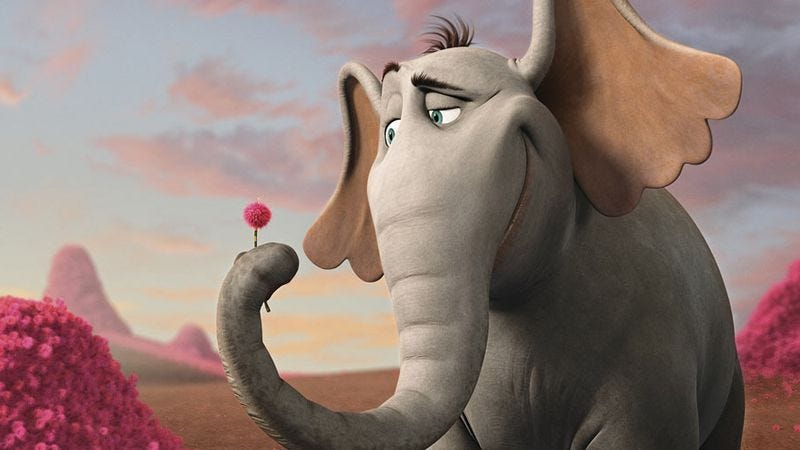 Illustration for article titled Horton Hears A Who!