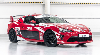 Illustration for article titled Toyota 86 with LeMans liveries
