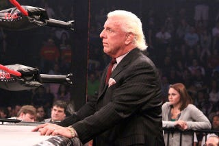 """Illustration for article titled Ric Flair Is Threatening To Sue Grantland Over """"Falsehoods"""" In Their Story, Even Though The """"Falsehoods"""" Came From Flair's Book"""