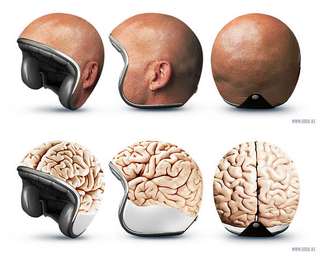 Illustration for article titled Because Wearing a Helmet Was Never Fun