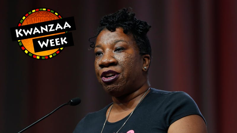 Tarana Burke, founder of the #MeToo campaign (Paul Sancya/AP Images); photo illustration by The Root/GMG