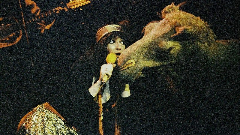 Kate Bush onstage in London in 1979. (Photo: Peter Still / Getty Images)