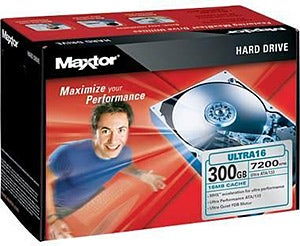 Illustration for article titled Maxtor 300GB Hard Drive for $44