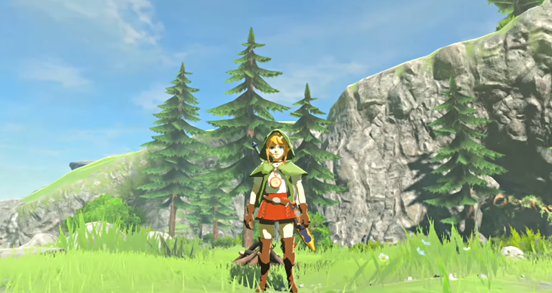 New Mod Lets You Play Breath Of The Wild As Linkle