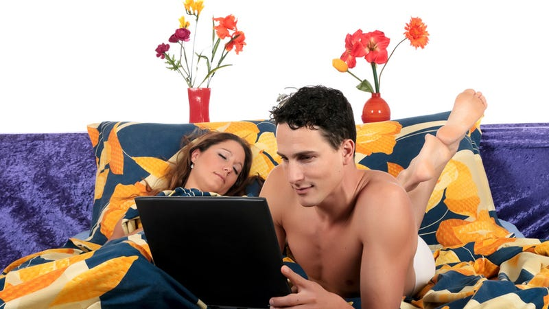 Illustration for article titled Study: People Would Sooner Make Love to Their Laptops Than to Their Lovers
