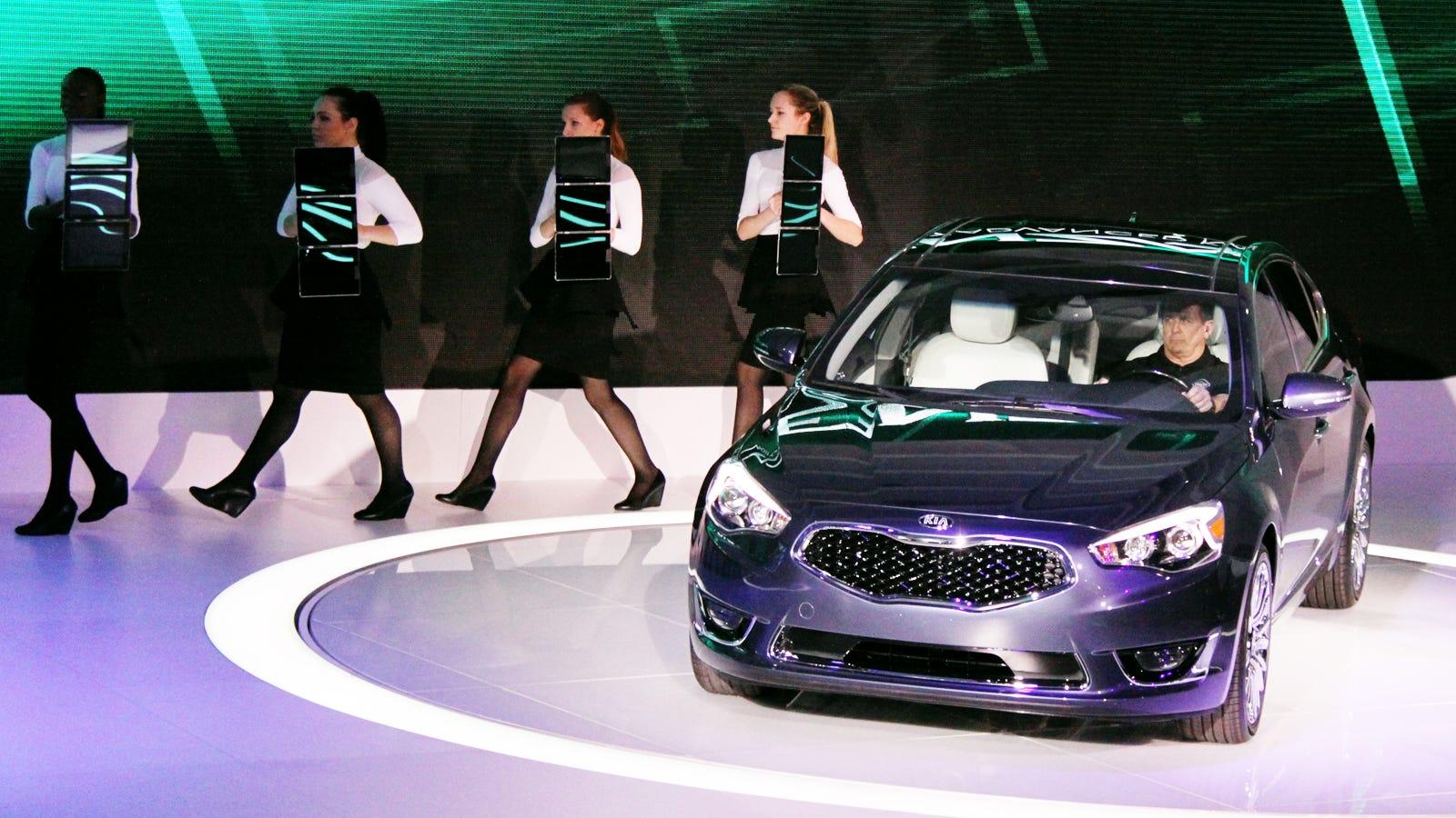 Kia is now making a near luxury flagship for Kia motors near me