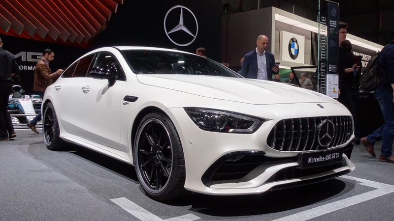 Ilration For Article Led The 2019 Mercedes Amg Gt 4 Door Coupe Is So
