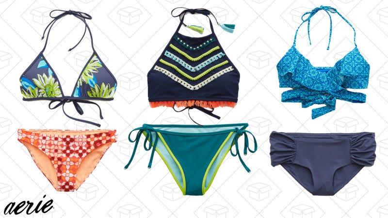Compra uno, obtén otro gratis en bikinis