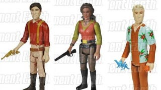 Illustration for article titled These first official Firefly action figures are not particularly shiny