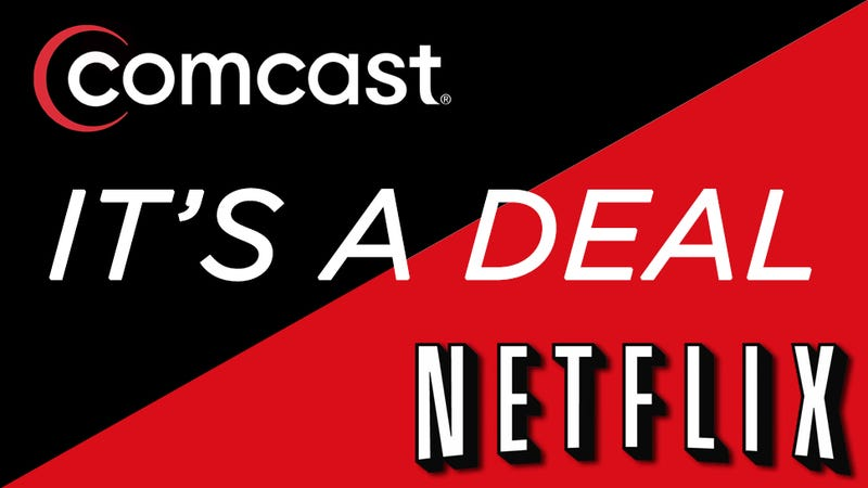 Illustration for article titled Netflix Agrees to Pay Comcast For Access to Its Broadband Network