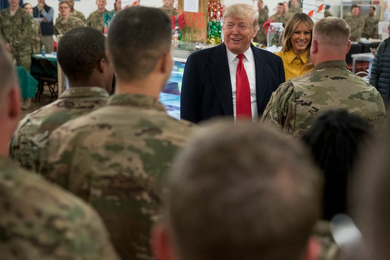 Illustration for article titled Trump Bragged to Troops About a 10 Percent Pay Raise He Never Gave Them