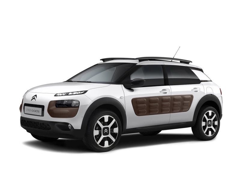 Illustration for article titled New Citroën C4 Cactus Breaks Cover, Is Exactly Like Concept Car