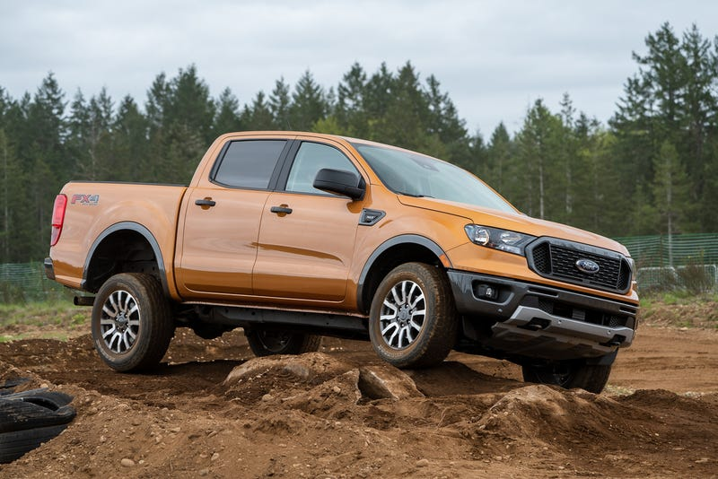 Illustration for article titled 2019 Ford Ranger FX4 Off Road Trail Control Explained