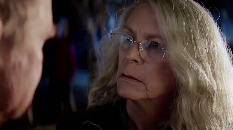 Laurie Strode (Jamie Lee Curtis) prepares herself for a final showdown with Michael Myers.