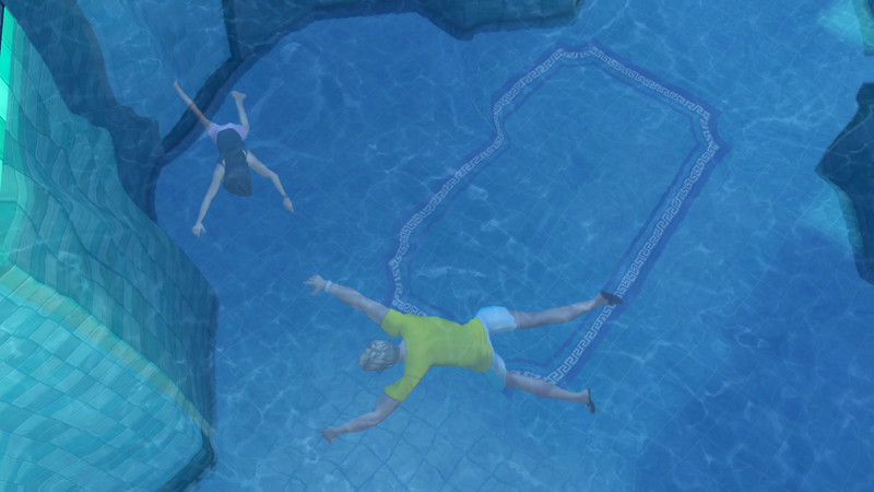 Illustration for article titled It Only Took Me An Hour To Drown My Sims In Their New Pool