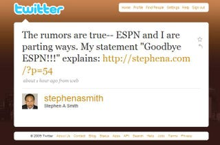 Illustration for article titled It's Not Official Until Stephen A. Tweets It
