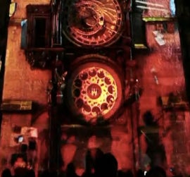 Illustration for article titled Prague's 15th Century Clock Gets a 21st Century Light Show