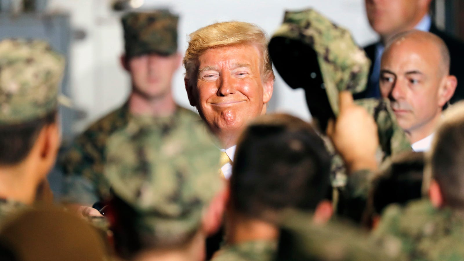 President Trump Thinks the Navy Is Trying Too Hard