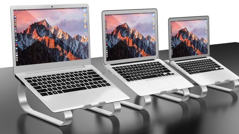Anypro Laptop Stand | $20 | Amazon | Promo code U3I9USWR