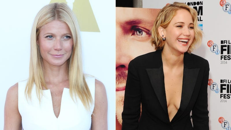 Illustration for article titled Gwyneth Paltrow Is Mighty Smug About JLaw and Chris Martin's Breakup