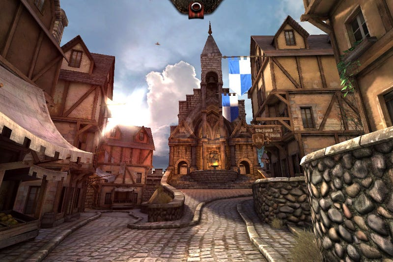 Illustration for article titled Play With The Unreal Engine On Your iPhone With Epic Citadel