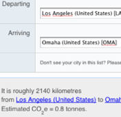 Illustration for article titled Carbon Planet Flight Emissions Calculator Determines the Footprint of your Flight