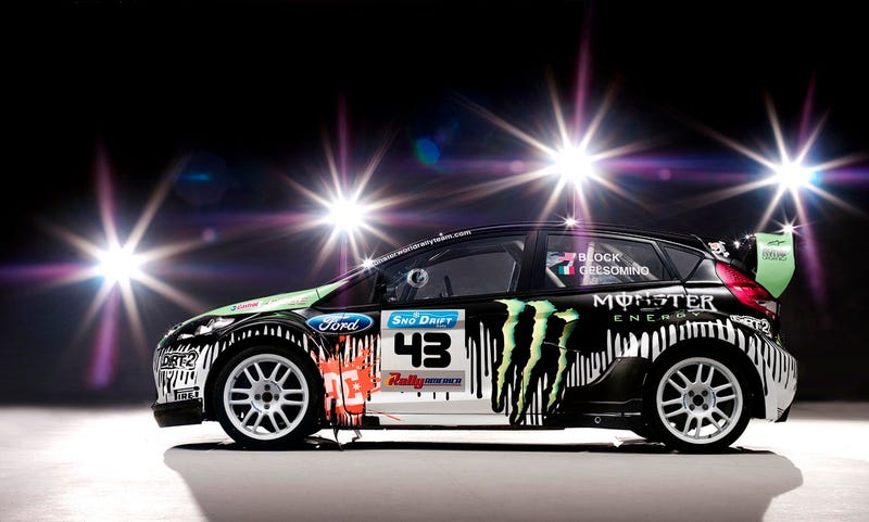 Ken Block S New Ford Rally Car Is Monstrously Cool
