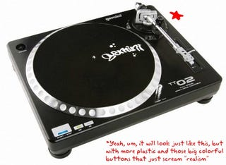 Illustration for article titled Here Come the Living Room DJ Poseurs: Activision's DJ Hero Revealed