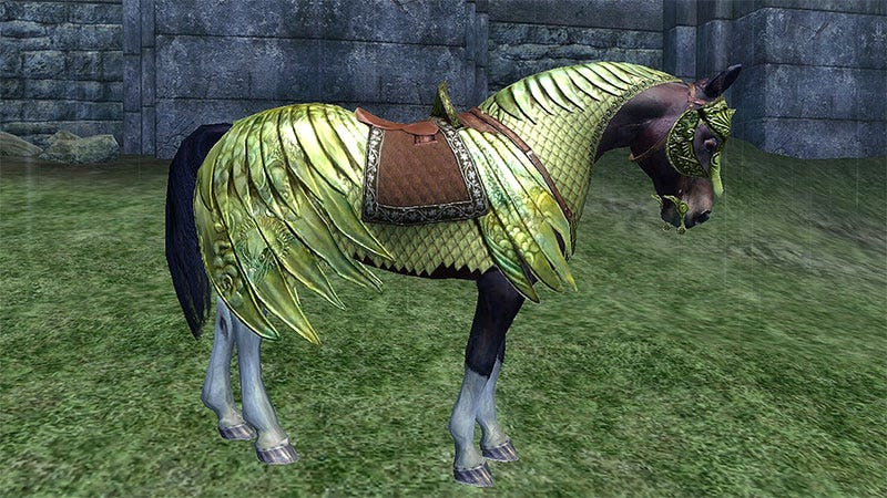 Never Forget Your Horse Armor