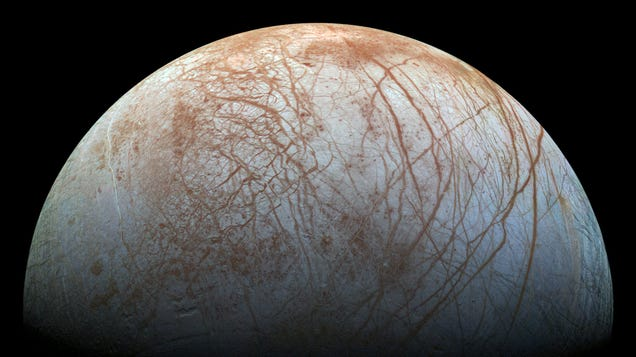Evidence of Life Could Exist Just Beneath Europa s Icy Surface