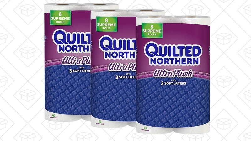 24 Rolls Quilted Northern Ultra Plush, $20