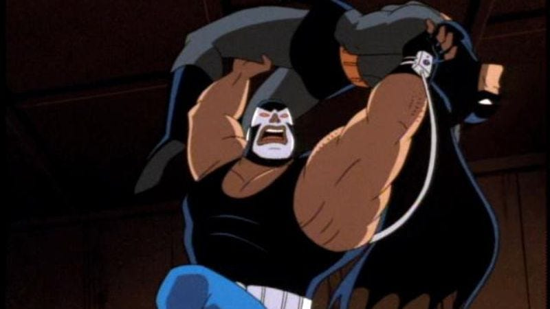 "Illustration for article titled Batman: The Animated Series: ""Bane"""