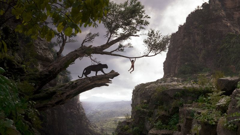 Illustration for article titled Disney's new take on The Jungle Book is gorgeous but under-conceived