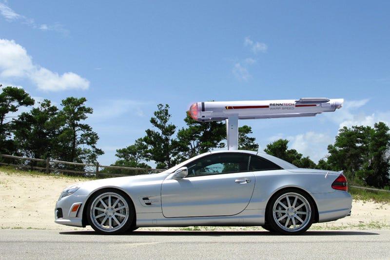 "Illustration for article titled Exclusive: Details Leak On ""Warp"" Optioned RENNtech Mercedes SL65"