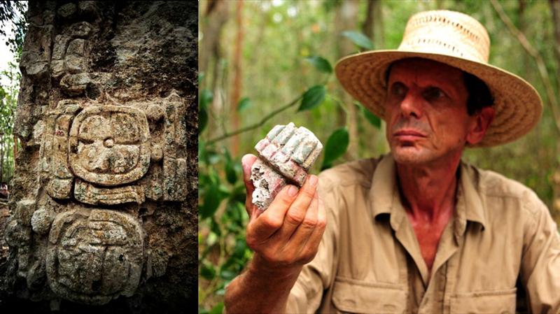 Illustration for article titled Descubren la ciudad Maya perdida de Chactún en una selva de México