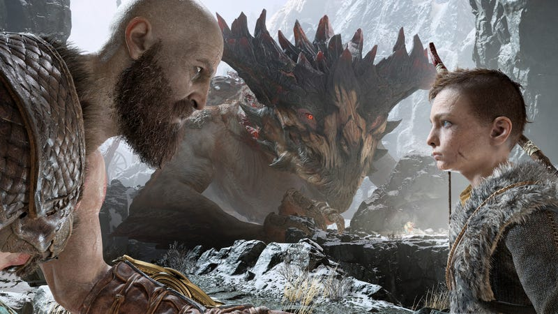 Illustration for article titled The God Of War We've Already Been Playing In Our Heads