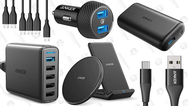e85220c03c2 A Whole Bunch of Anker Charging Gear Is Deeply Discounted, For One ...