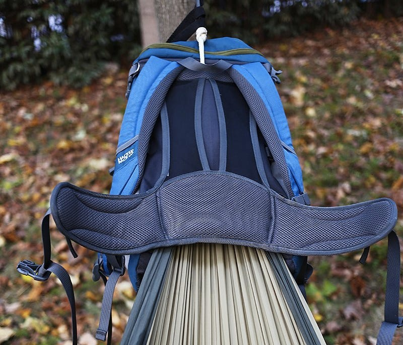 - A Hammock In A Backpack Is All You Really Need For Camping
