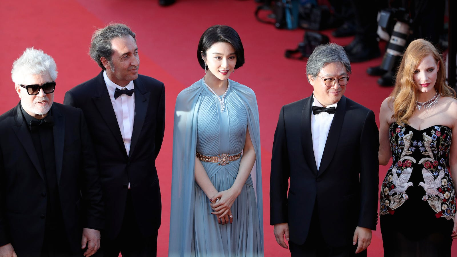 Searching for Old Hollywood Glamour on the Cannes Opening Gala Red Carpet