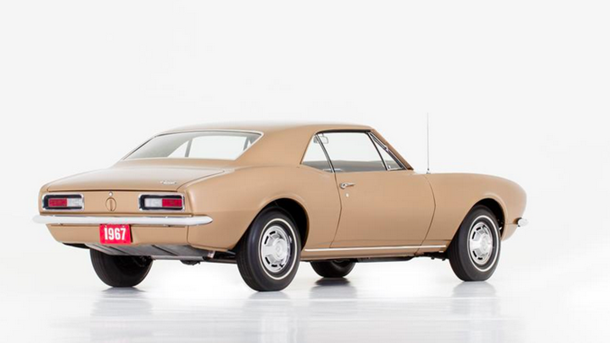 Check Out The Very First Camaro Prototype On Display In This