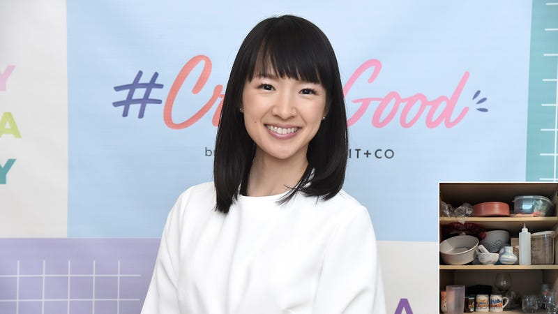Illustration for article titled Fans Shocked After Marie Kondo Reveals She Has Been Dating Untidy Cupboard For Past 6 Months