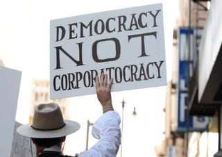 Occupy Wall Street protesters in Los Angeles (Getty Images)